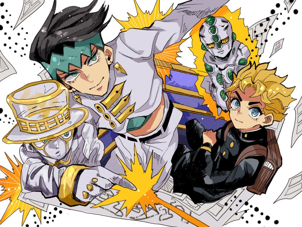 Diamond Is Unbreakable · download Diamond Is Unbreakable image  sc 1 st  Zerochan & Heaven\u0027s Door - Diamond Is Unbreakable - Zerochan Anime Image Board