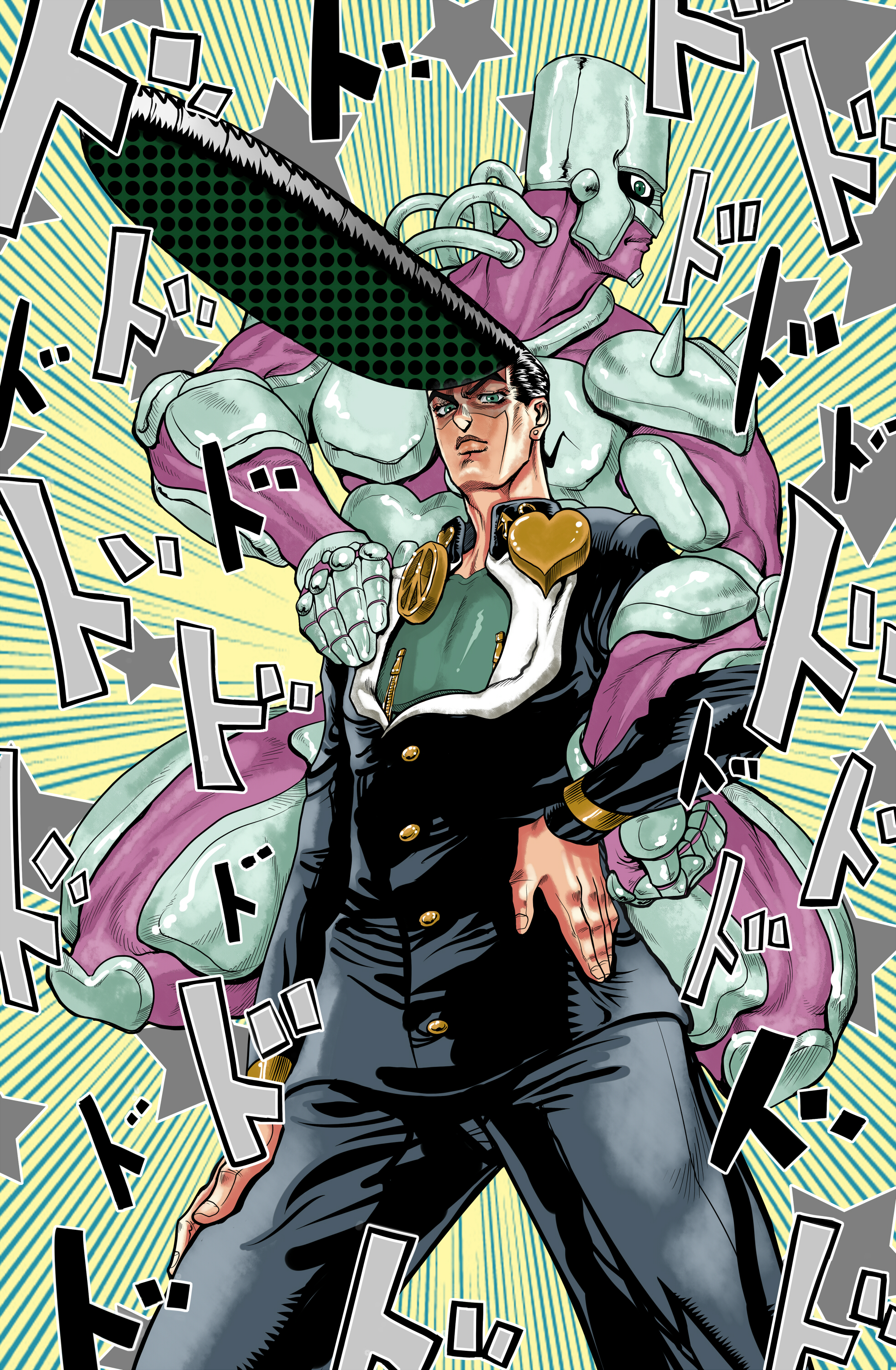 Crazy Diamond Diamond Is Unbreakable Zerochan Anime Image Board All star battle art gallery. zerochan anime image board