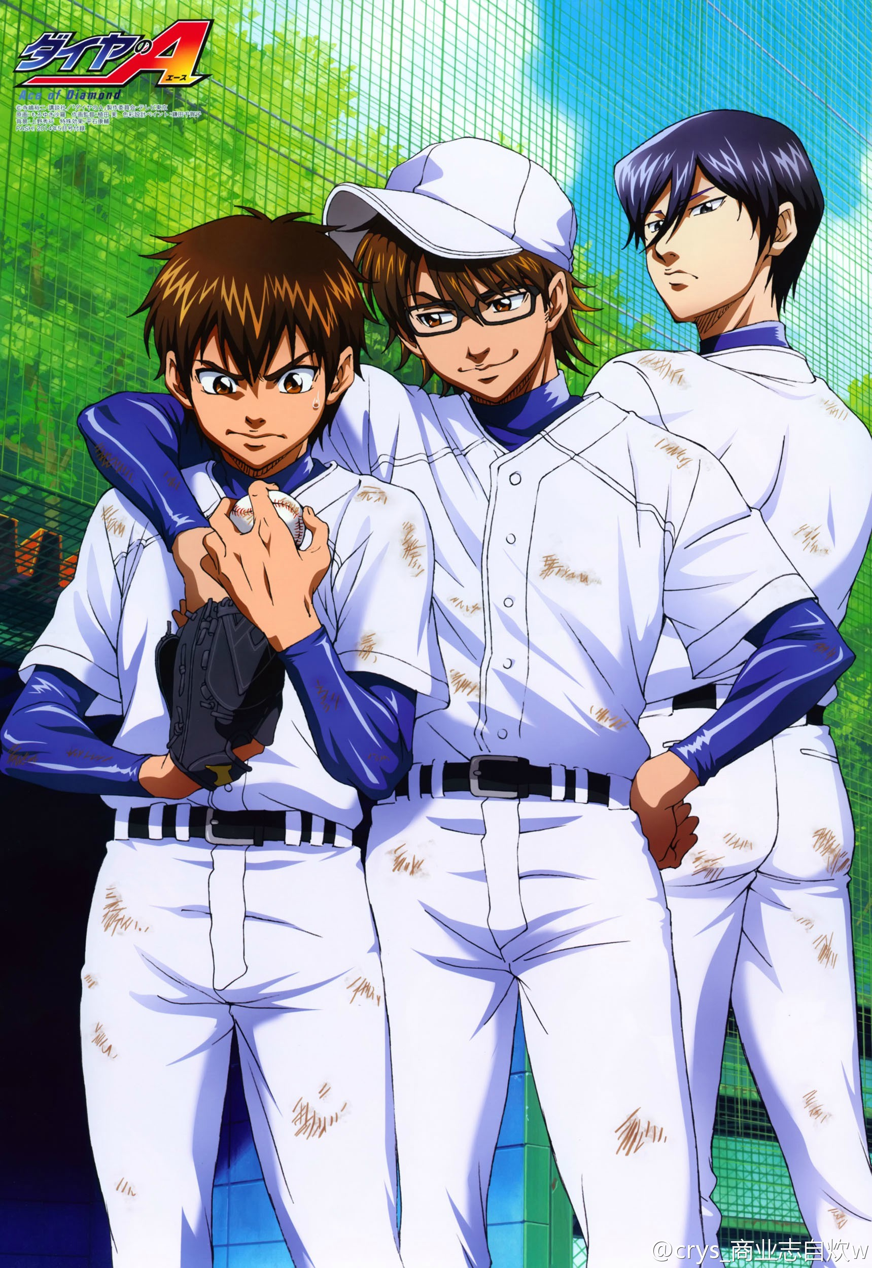Diamond No Ace Ace Of Diamond Mobile Wallpaper Zerochan Anime