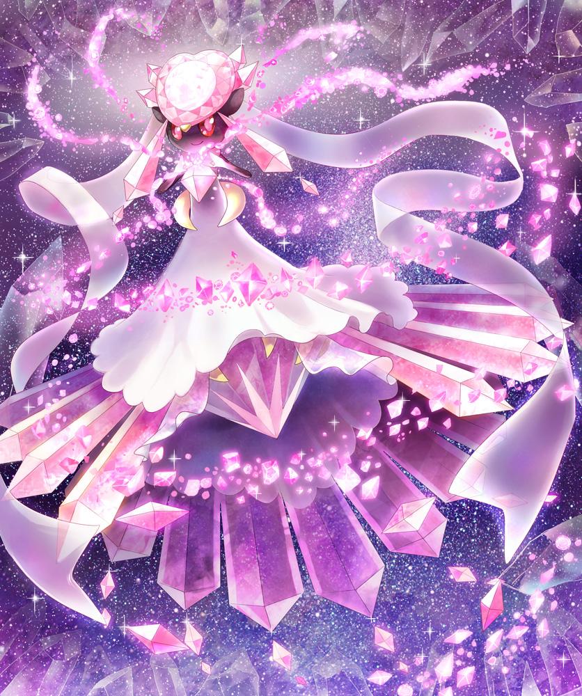 Diancie Pok 233 Mon Image 1754194 Zerochan Anime Image Board