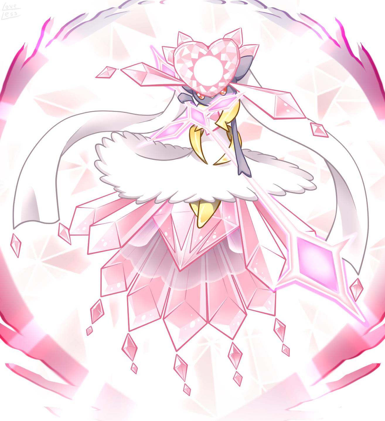 Diancie Pok 233 Mon Image 1990553 Zerochan Anime Image Board