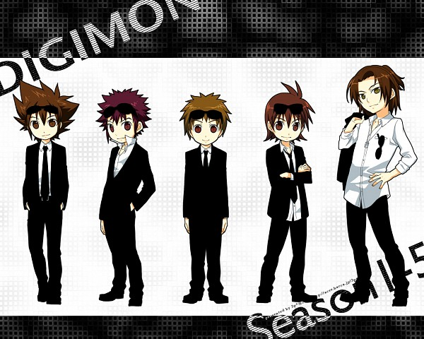 Tags: Anime, Kaede (Pixiv Id 128304), Digimon Savers, Digimon, Digimon Frontier, Digimon Zero 2, Digimon Tamers