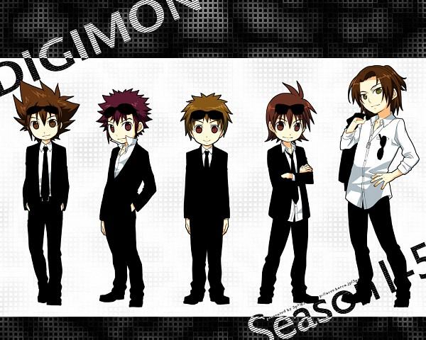 Tags: Anime, Kaede (Pixiv Id 128304), Digimon Tamers, Digimon Adventure, Digimon Savers, Digimon Frontier, Yagami Taichi