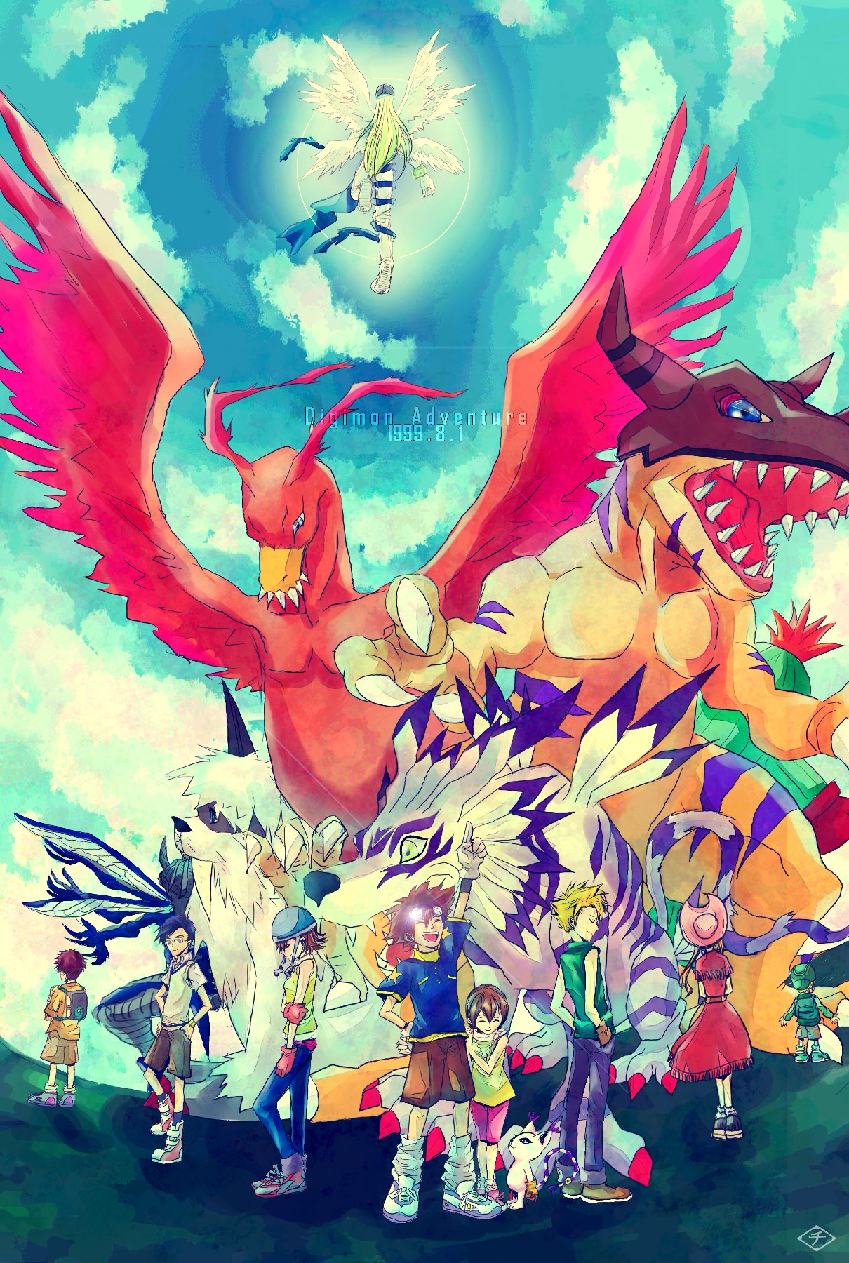 garurumon - digimon adventure