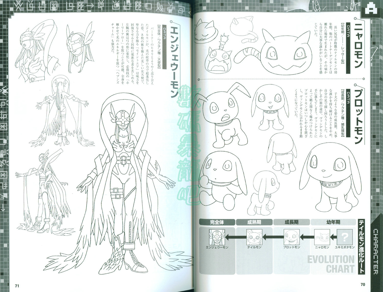 Digimon Adventure Memorial Art Book Anime