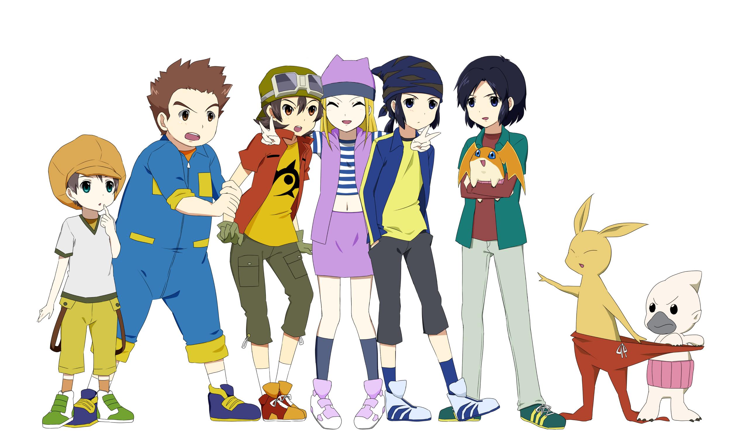Digimon Frontier Wallpaper 314664 Zerochan Anime Image