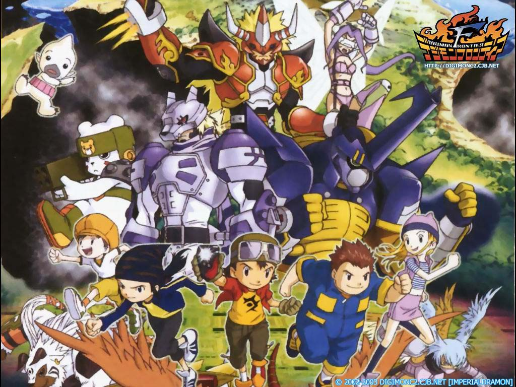 Digimon - digimon frontier español latino mega - Anime Ligero [Descargas]
