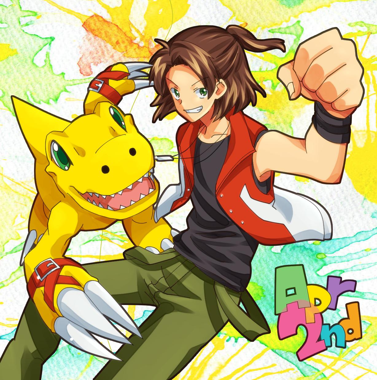 Digimon frontier fan art