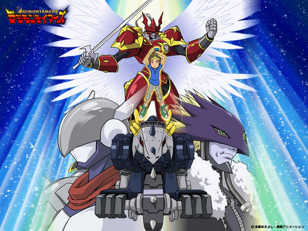 Digimon Tamers Wallpaper 390418 Zerochan Anime Image Board