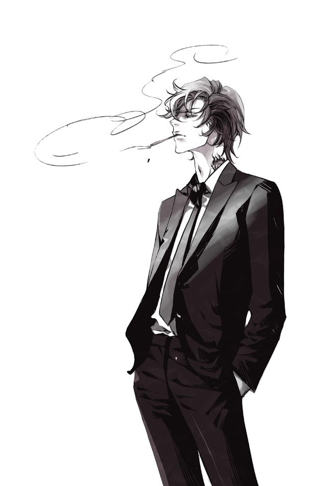 Tags: Anime, Pixiv Id 11183099, Katekyo Hitman REBORN!, Dino Cavallone, Boss, Mafia, Fanart From Pixiv, Fanart, Mobile Wallpaper, Pixiv