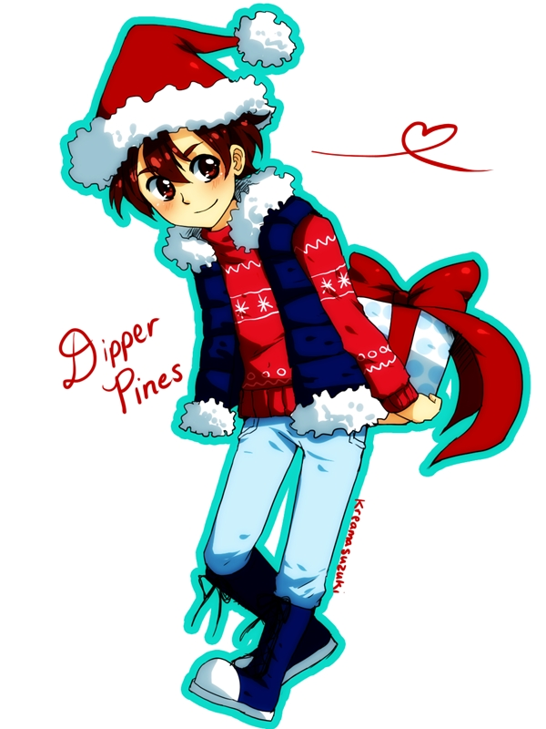 Disney gravity falls dipper pines christmas outfit christmas