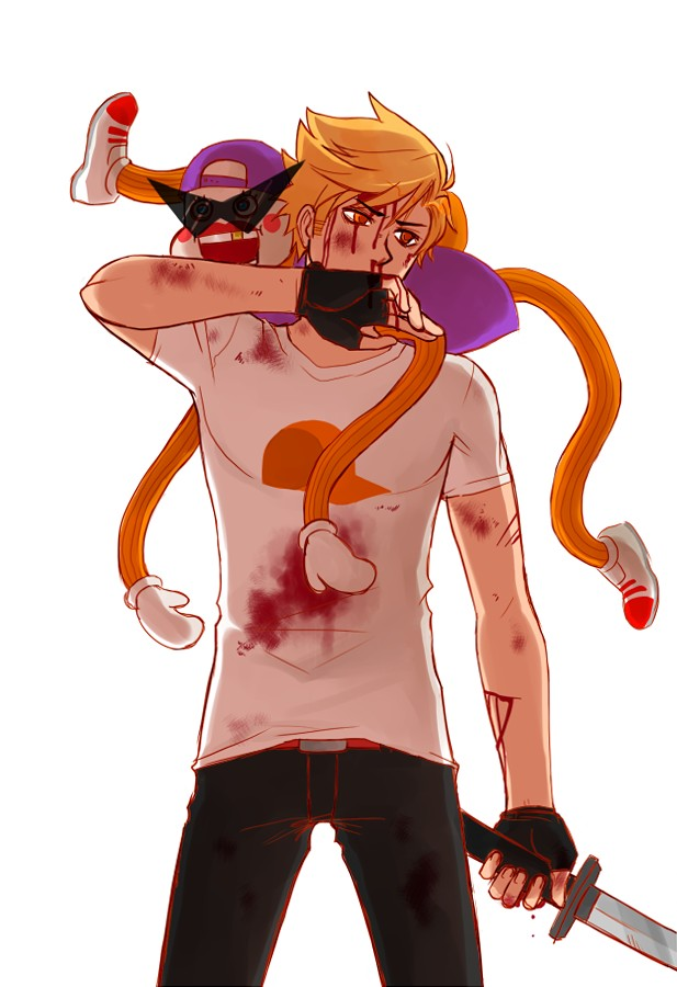 Tags: Anime, Blackoutballad, Homestuck, Lil Cal, Dirk Strider, Fanart, Tumblr