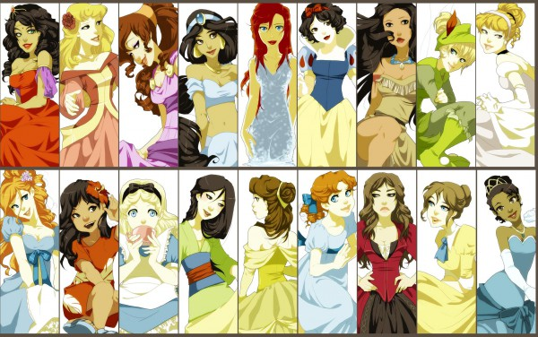 Tags: Anime, Alice in Wonderland, Snow White and the Seven Dwarfs, Aurora, Cinderella, Pirates of the Caribbean, Peter Pan
