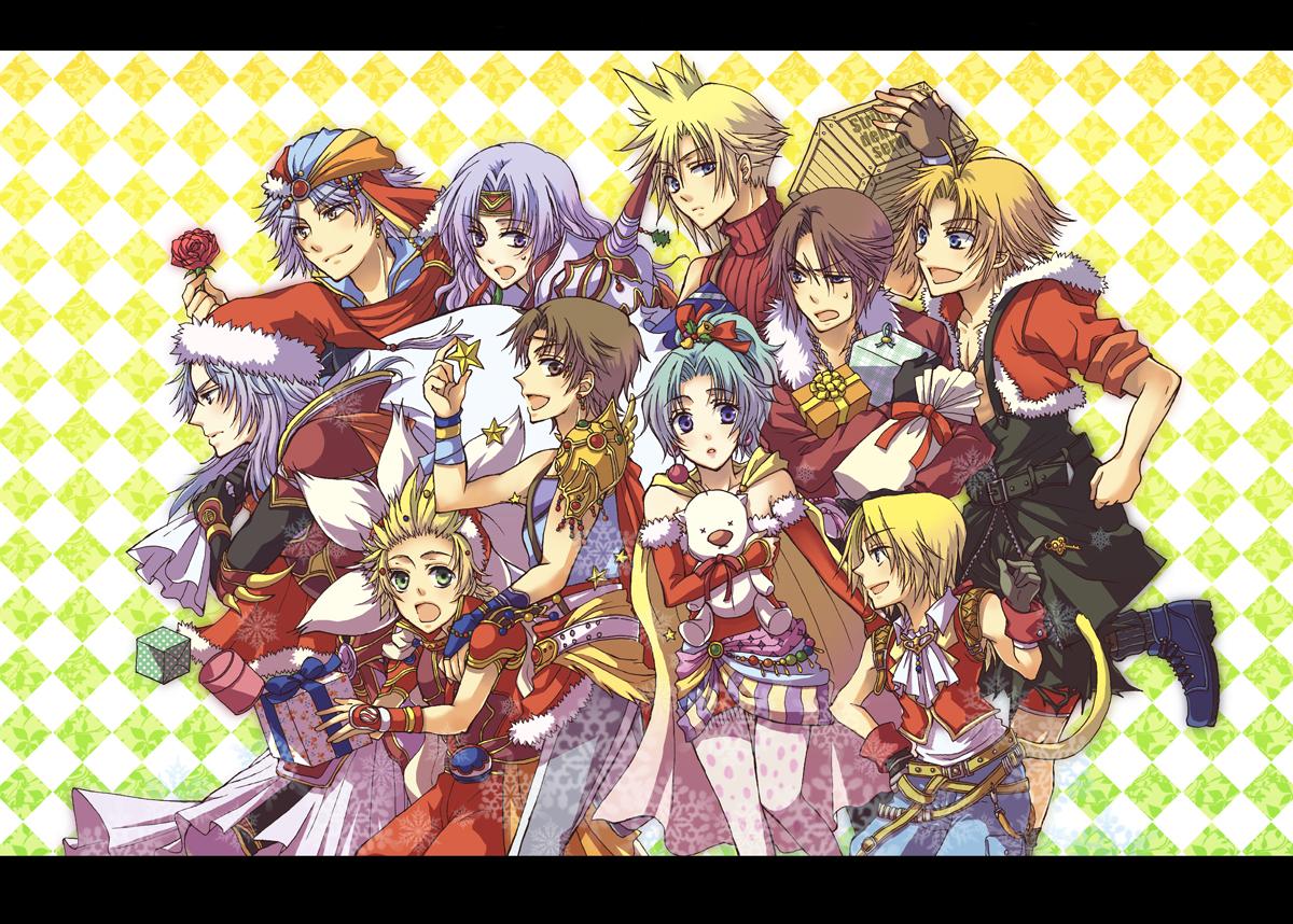 Final Fantasy Christmas.Dissidia Image 1333962 Zerochan Anime Image Board