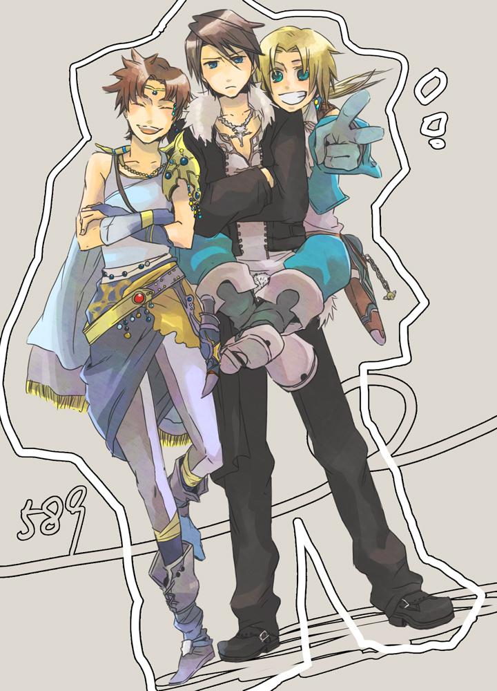 Dissidia mobile wallpaper 134402 zerochan anime image board - Final fantasy zidane wallpaper ...