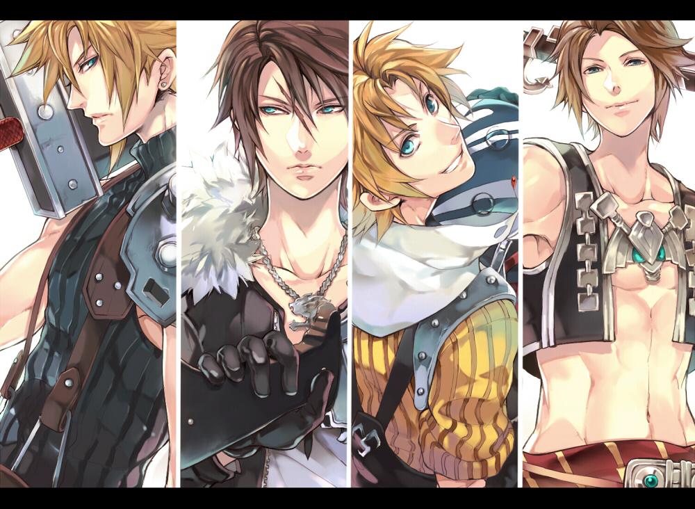 Cloud Strife Fanart Zerochan Anime Image Board