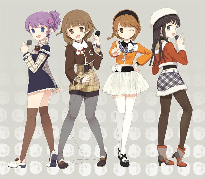 Tags: Anime, Tiv, Annyeong!, Dj Max, Yu Anna, Shinji Won, Min-jin Son, Pixiv, Original, Ladymade Star