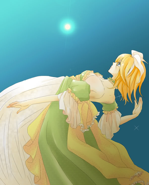 Tags: Anime, VOCALOID, Kagamine Rin, Artist Request, Dolls (Song)