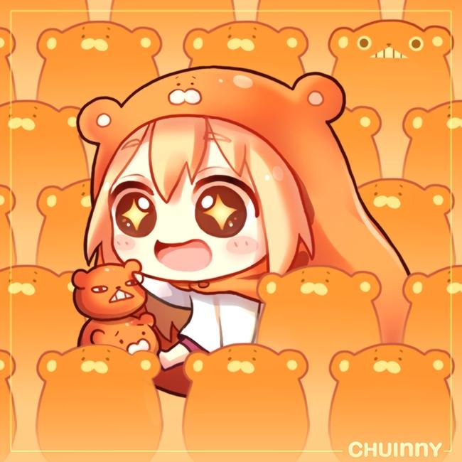 Tags: Anime, Pixiv Id 14210475, Himouto! Umaru-chan, Doma Umaru, PNG Conversion