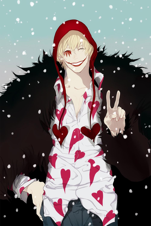 Donquixote Rocinante One Piece Zerochan Anime Image Board