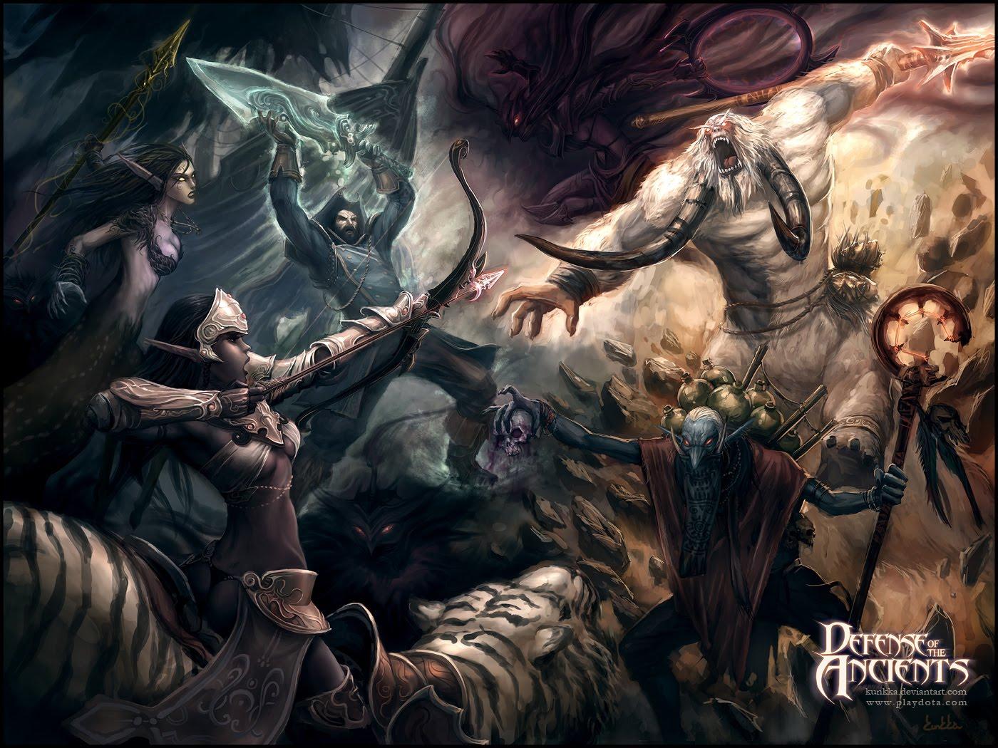 Dota 2 Defense Of The Ancients Wallpaper 783615 Zerochan