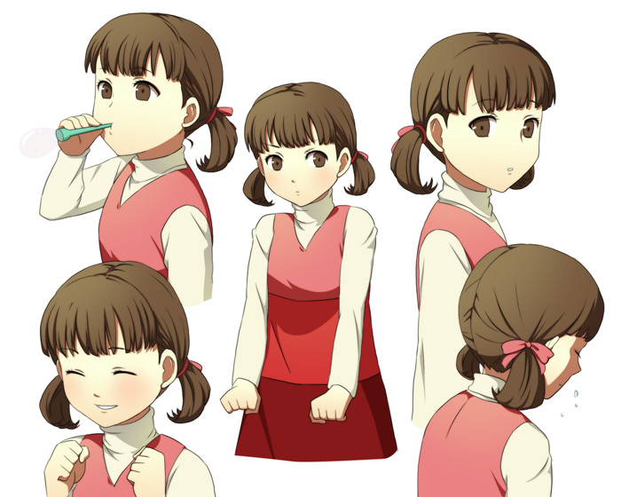 Persona 4 help nanako with homework