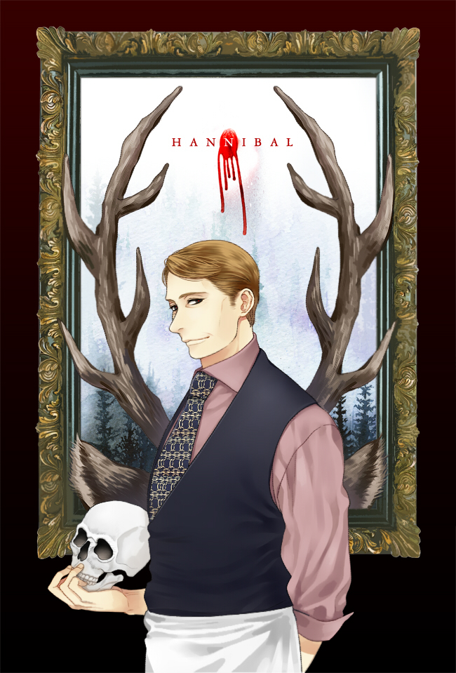 Tags: Anime, Aleatorik, Hannibal (TV Series), Dr. Hannibal Lecter, Mobile Wallpaper