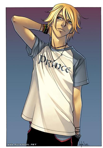 Рисованные картинки аниме парень
