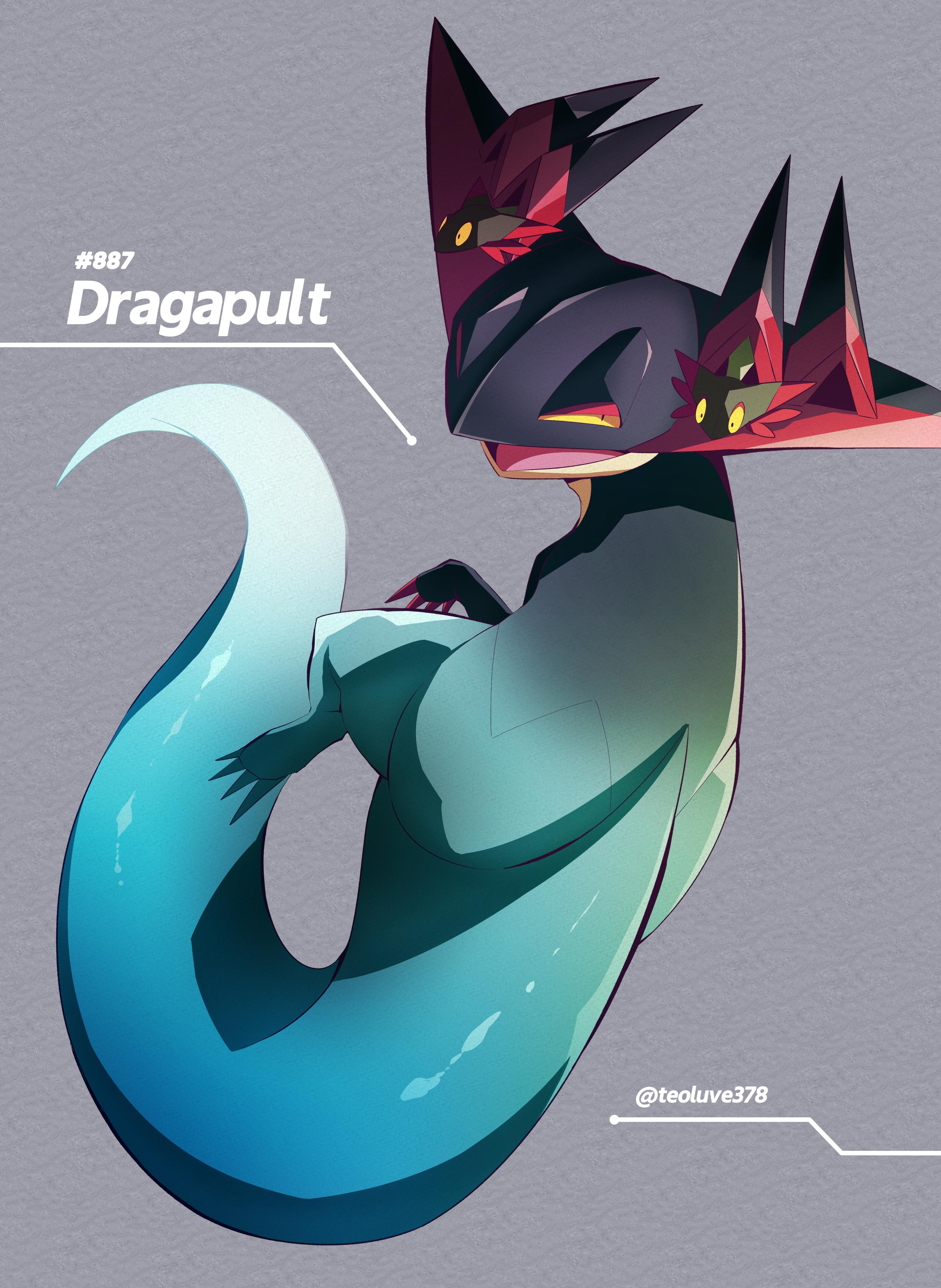 Dragapult - Pokémon Sword & Shield - Image #2892166 - Zerochan Anime Image  Board