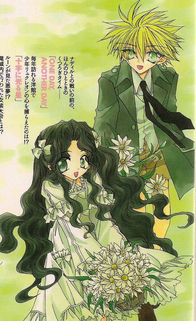 Tags: Anime, Ohkami Mineko, Dragon Knights, Lykouleon (Dragon Knights), Raseleane (Dragon Knights)