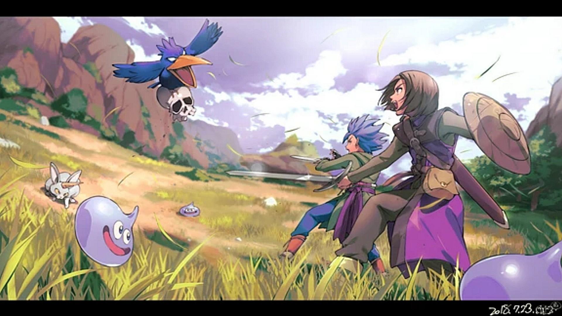 Dragon Quest Xi Wallpaper 2397758 Zerochan Anime Image Board