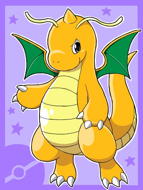 Tags: Anime, Nekobullet, Pokémon, Dragonite, Fanart, Tegaki, PNG Conversion