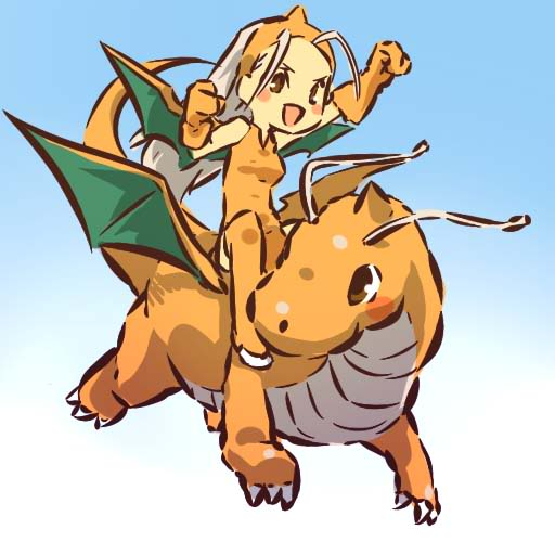 Tags: Anime, Hitec, Pokémon, Dragonite, Dragon Wings