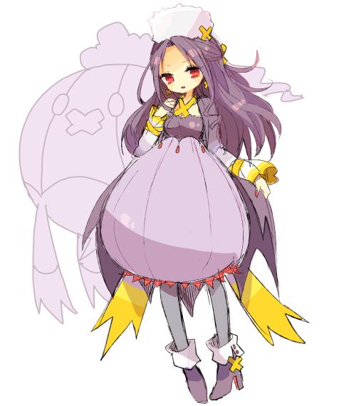 Tags: Anime, Pixiv Id 976524, Pokémon, Drifblim, Fanart From Pixiv, Fanart, PNG Conversion, Pixiv