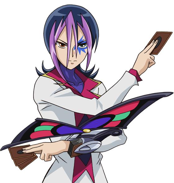 Tags: Anime, Studio Gallop, Yu-Gi-Oh!, Yu-Gi-Oh! ZEXAL, Droite (Yu-Gi-Oh! ZEXAL), Waist Up, Looking Ahead