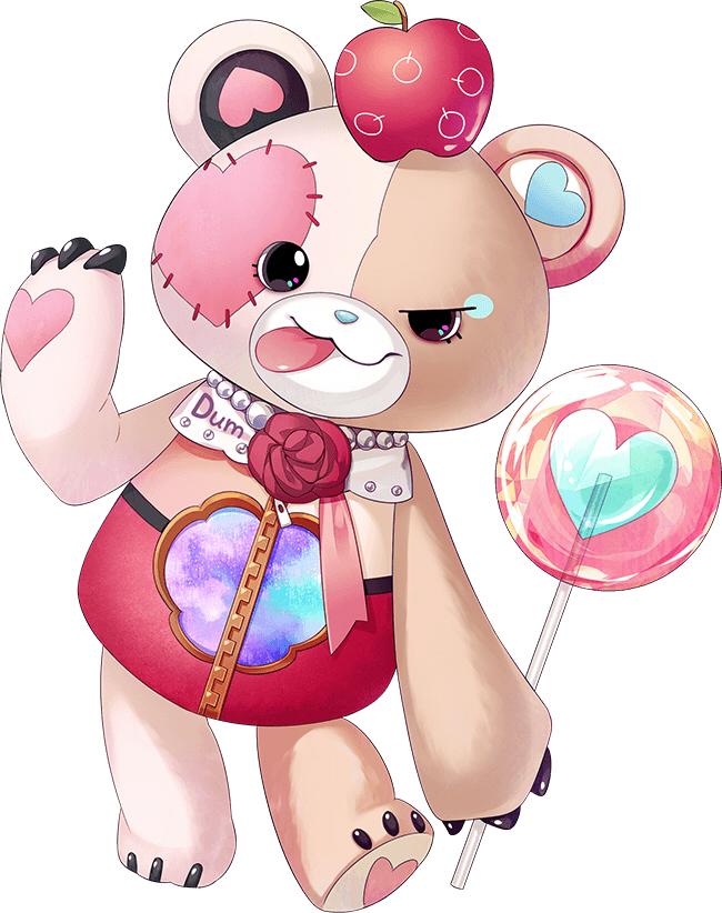 Tags: Anime, Mochimochita, Kogado Studio, Shiro to Kuro no Alice, Dum (Shiro to Kuro no Alice), PNG Conversion, Official Art