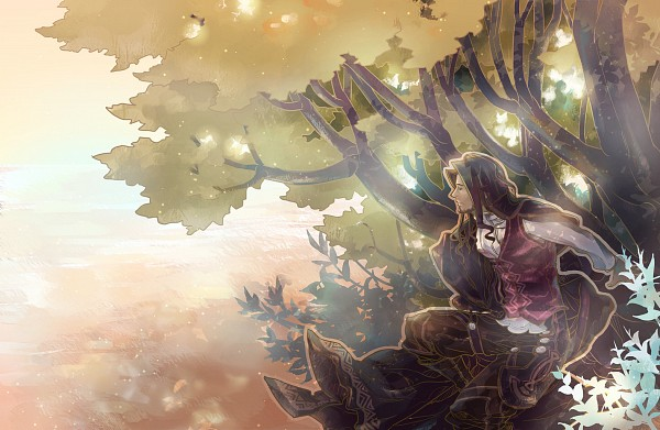 Tags: Anime, Pixiv Id 414128, Xenoblade, Dunban (Xenoblade), Nature, Forest