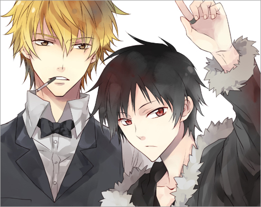Tags: Anime, Durarara!!, Orihara Izaya, Heiwajima Shizuo, Y.tea
