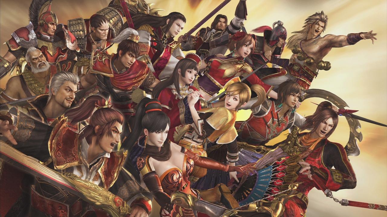 Dynasty warriors and samurai warriors girls lesbian  hentai wet women