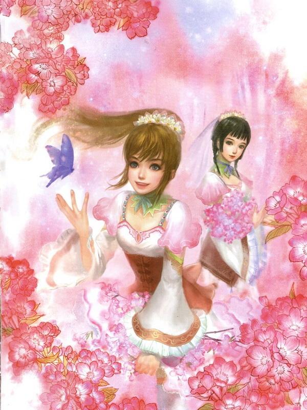 Tags: Anime, Koei, Dynasty Warriors, Da Qiao, Xiao Qiao