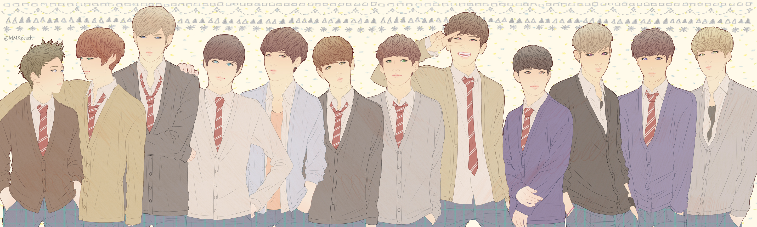 Exo K Pop Zerochan Anime Image Board