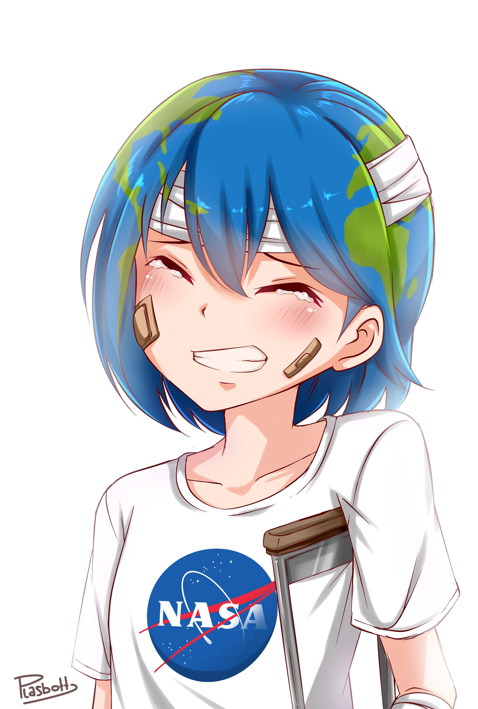 Earth-chan - Personification - Zerochan Anime Image Board