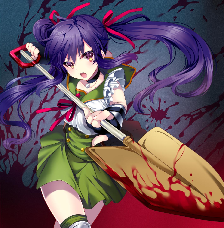 anime horror wallpaper