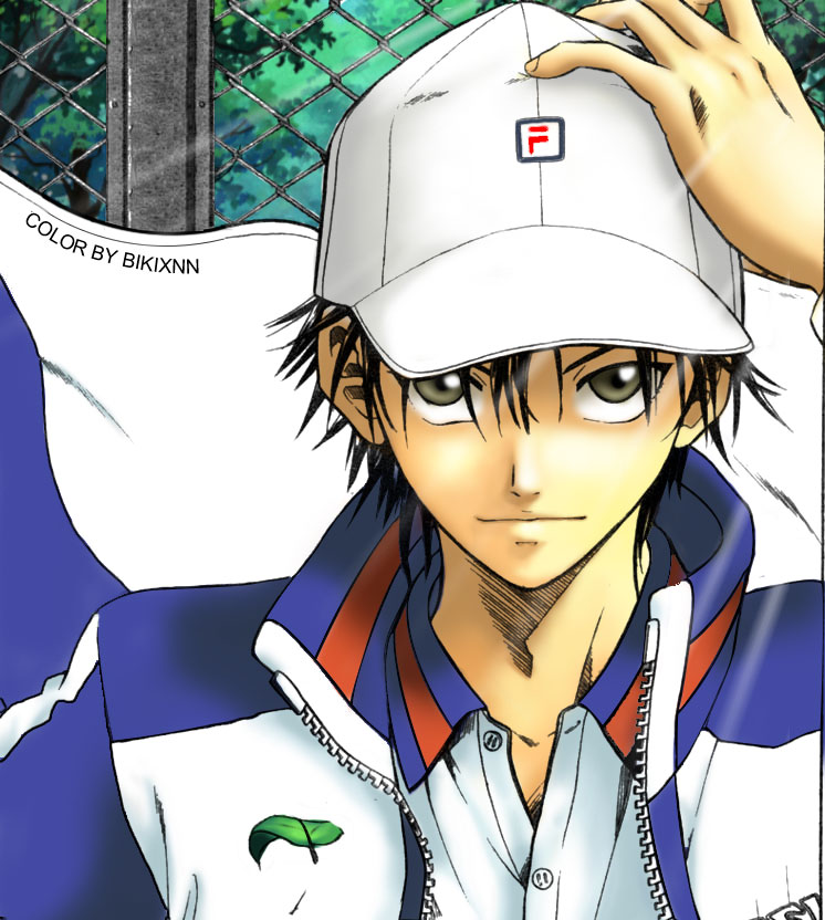 Ryoma with Ibukis hair : danganronpa