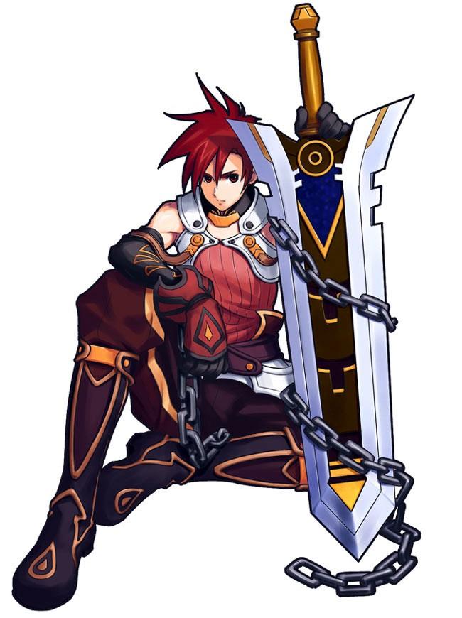 Tags: Anime, Atelier Iris, Edge Vanhite, Buster Sword
