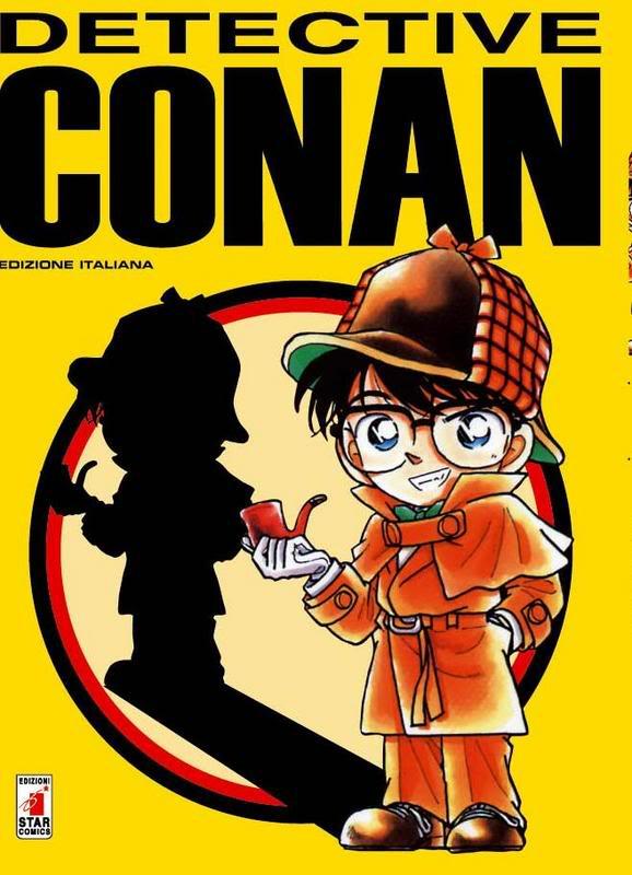 Tags: Anime, Aoyama Goushou, Meitantei Conan, Edogawa Conan, Italian Text, Manga Cover, Official Art, Scan