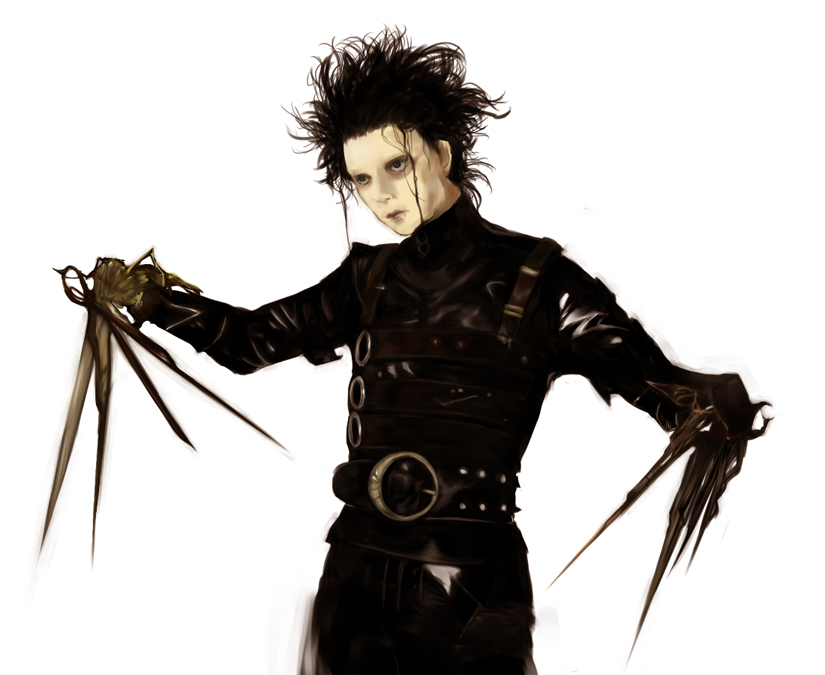 character and characteristics in edward scissorhand Rationale: edward scissorhands provides an opportunity to review literary  devices  provide a description of the important traits of the character and come  to an.
