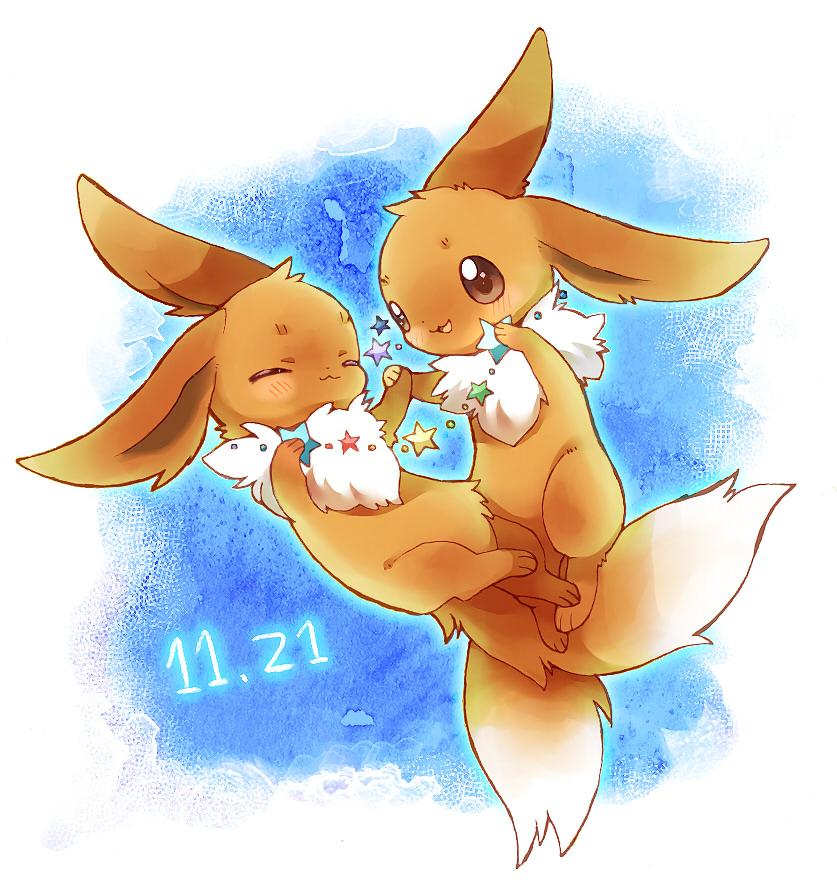 Eevee Pok 233 Mon Image 1176947 Zerochan Anime Image Board