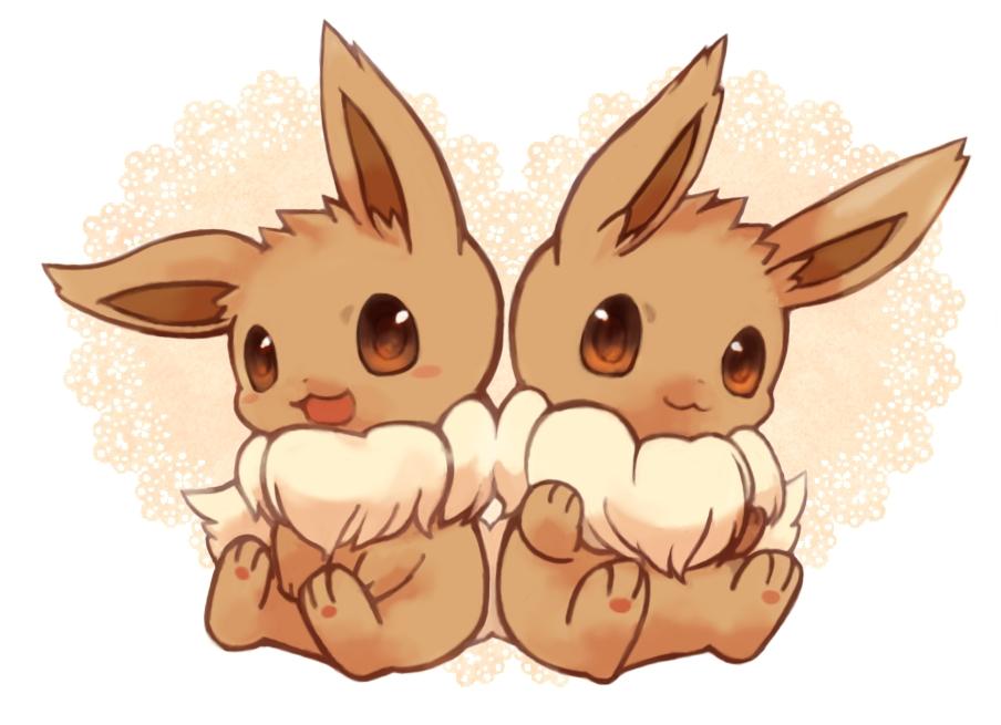 Eevee Pok 233 Mon Image 1347688 Zerochan Anime Image Board