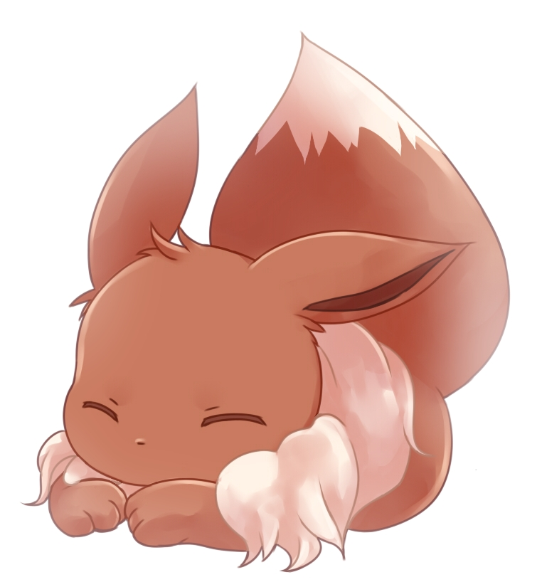Eevee Image 1492861 Zerochan Anime Image Board